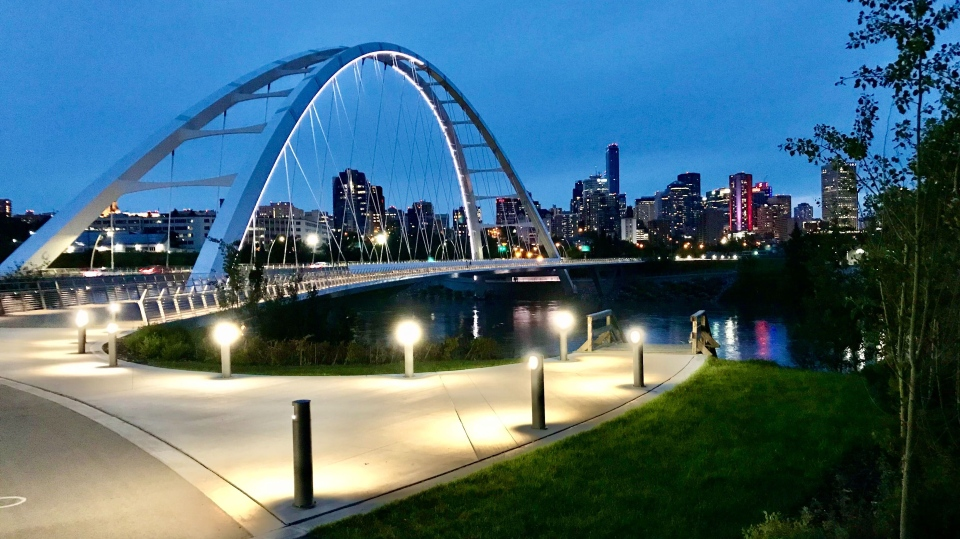Walterdale Bridge (Sean Amato/CTV News Edmonton)