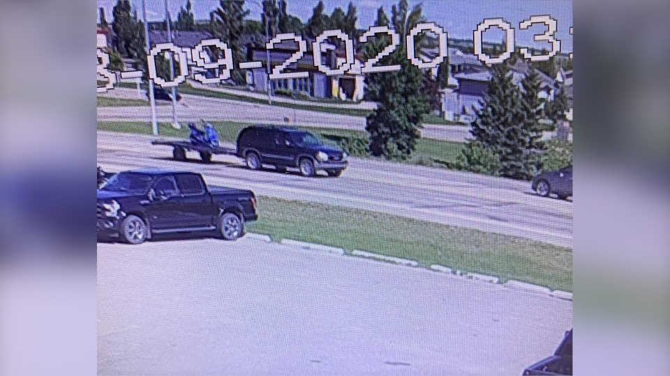 SUV sought in hit-and-run