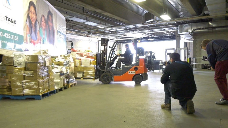 Moving the ECOF donation