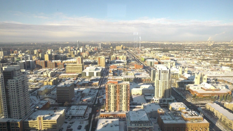 View from Stantec Tower