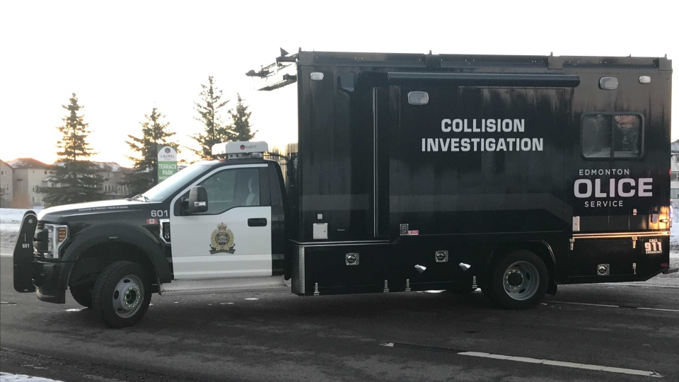 EPS collision investigation vehicle