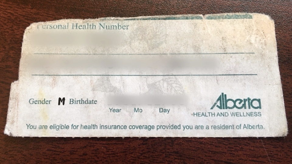 Alberta Health Care Card