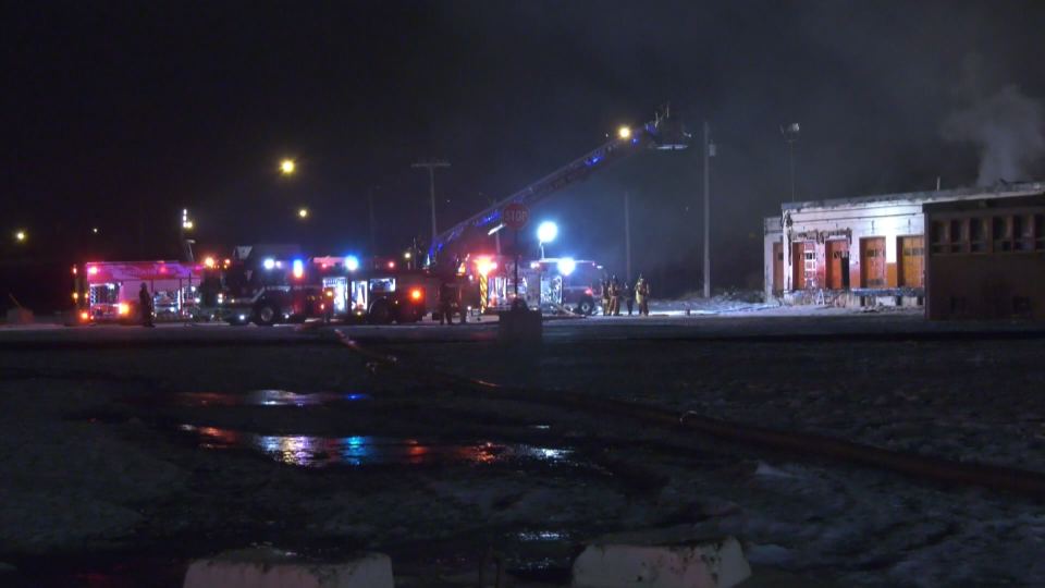 CP rail yard fire Old Strathcona March 6