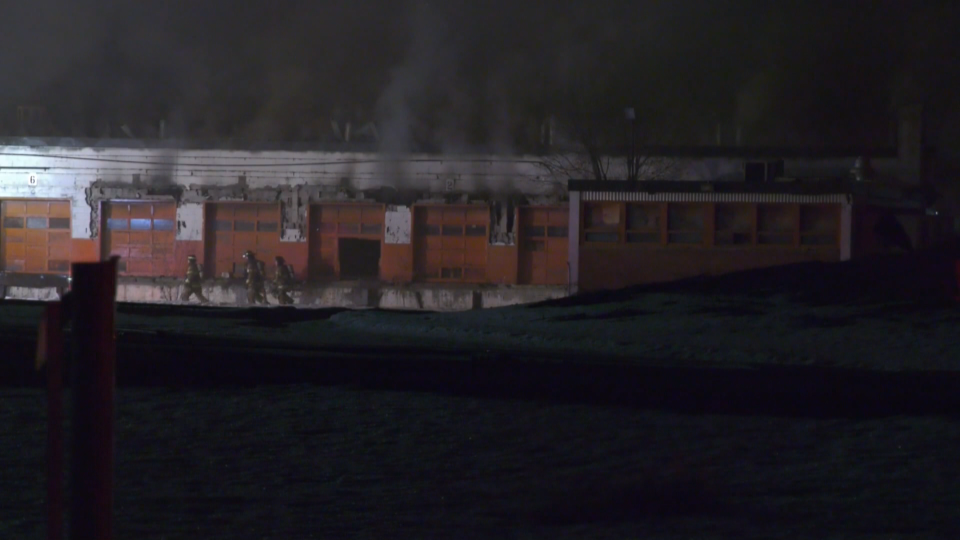 CP rail yard Old Strathcona fire March 6