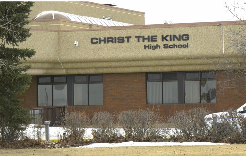 Christ the King school Leduc