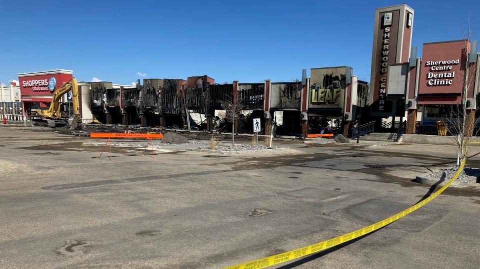 Sherwood Park Strip Mall fire