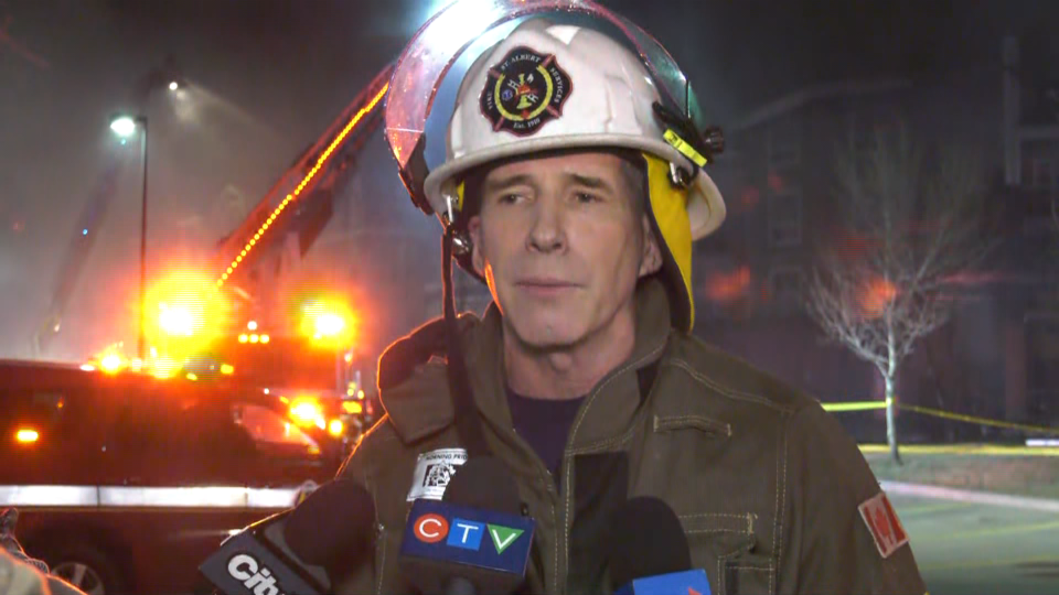 St. Albert fire chief
