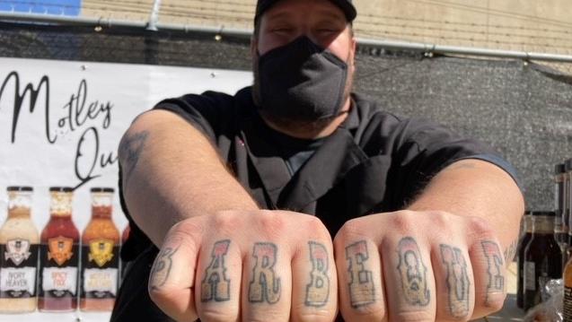 Motley Que tattoo