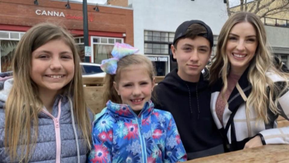 Meghan Dirks and Kids