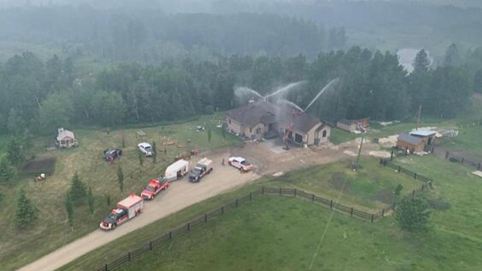 Yellowhead County wildfire
