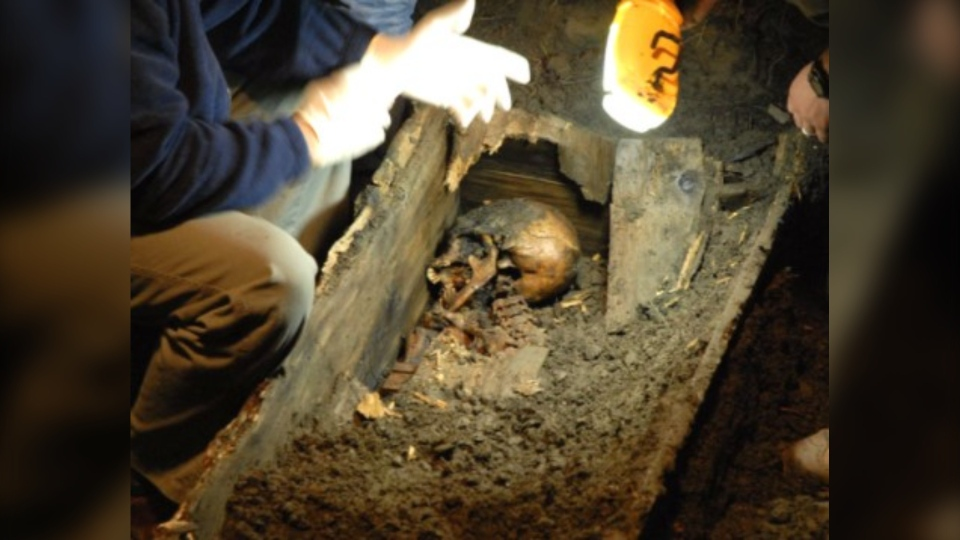 The Mad Trapper of Rat River is exhumed