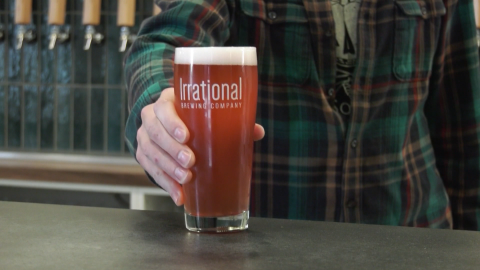 Irrational Brewing Company beer