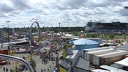 Fair goers spend their day at Capital Ex.