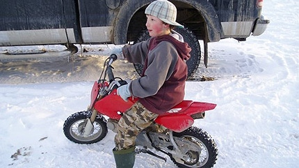 Kirkland Gour, 12, died in 2007 after his ATV flipped near his family's home in Nampa, Alta.