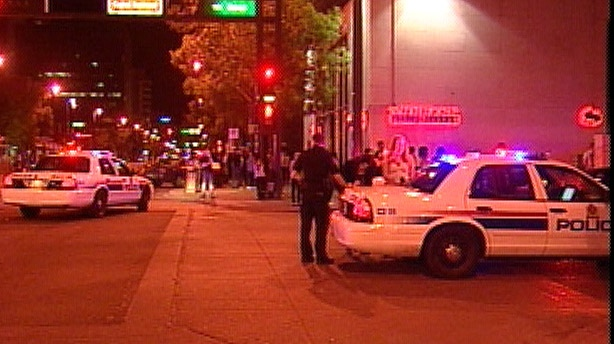 The shooting happened outside the Bank Ultra Lounge located on Jasper Avenue and 108th Street.