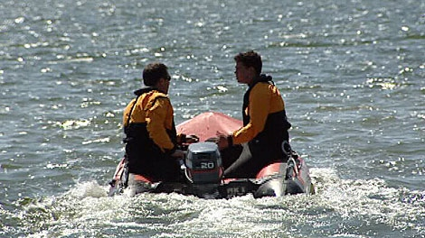 The search for a missing Edmonton man in Wabamun Lake became a recovery mission Sunday. May 27.