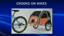 CTV Edmonton: Police warn homeowners to be on the lookout for thieves on bikes