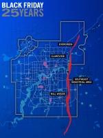 Black Friday - Tornado's Path
