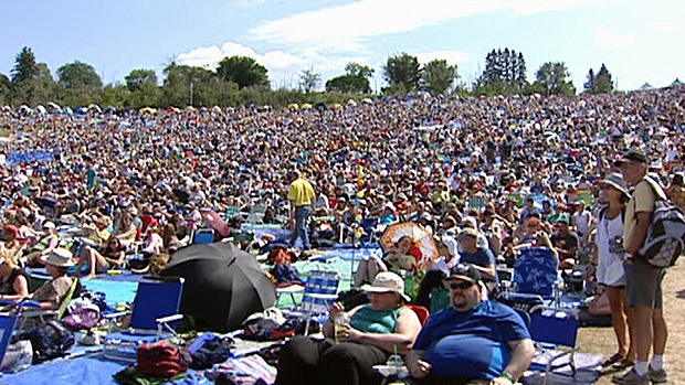 Thousands of people packed Gallagher Park for the Edmonton Folk Festival. Organizers are calling the event a huge success.