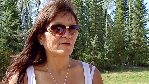 Only days after she flagged down an oil worker on a remote northern Alberta road, after being lost in the woods for two weeks, Rhonda Cardinal, 41, shared her story with CTV News. Friday, August 17.