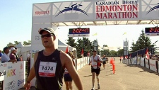 Thousands take part in the 2012 Canadian Derby Edmonton Marathon.