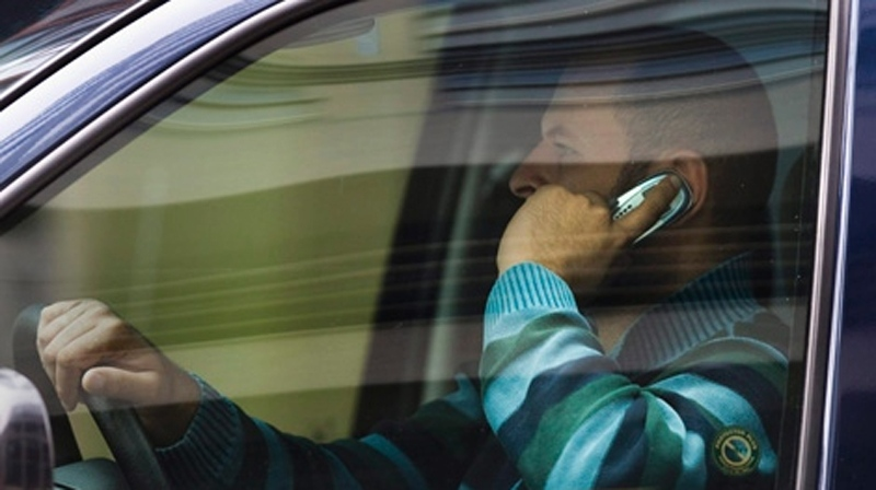 ICBC and police launched a campaign against distracted driving on August 28, 2012. (CTV)