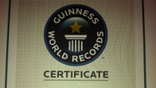 Guinness World Records for world's largest QR code. PHOTO: Lacombe Corn Maze/Facebook.