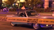 112 Street 104 Avenue car-ped collision